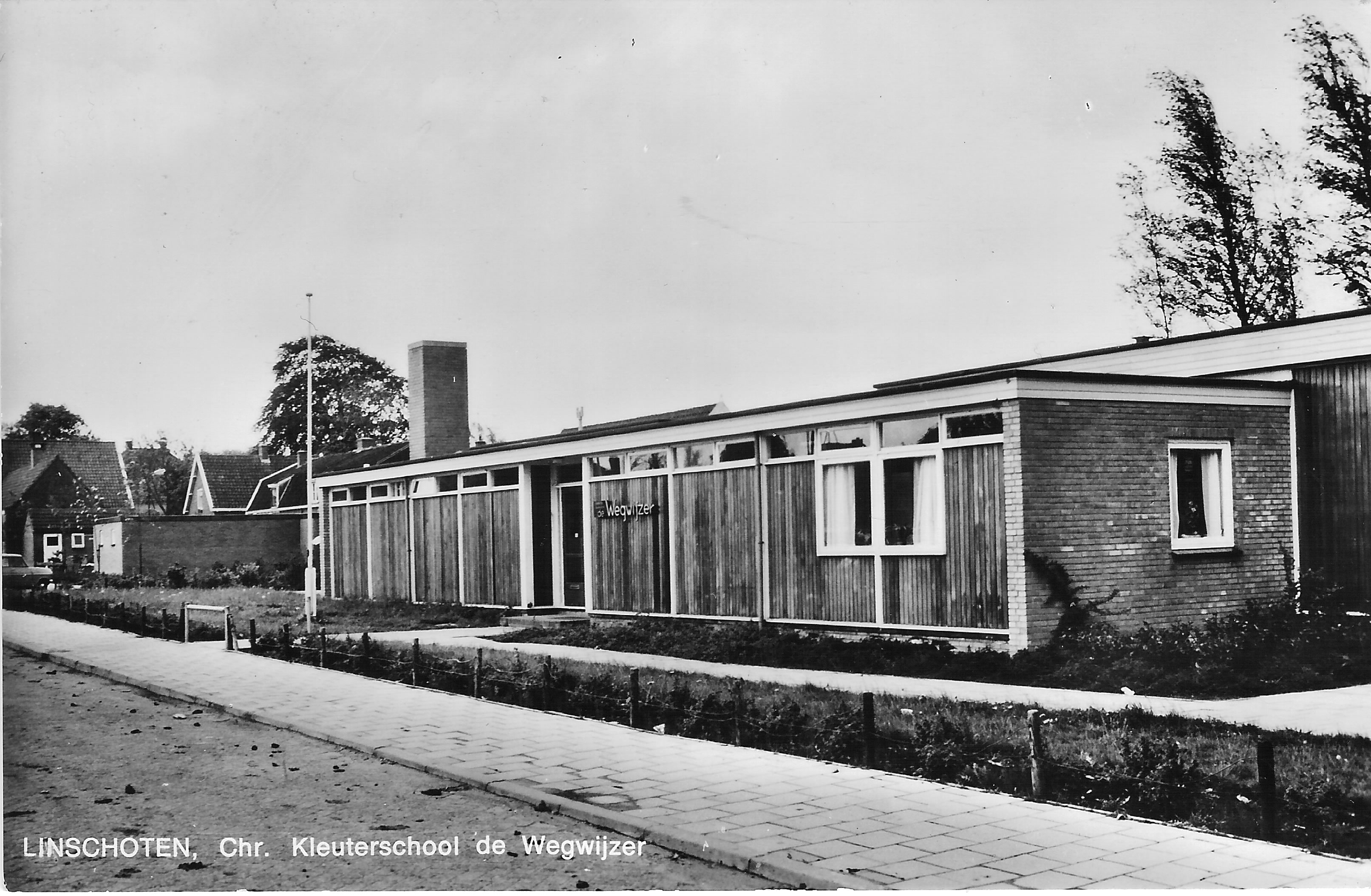 kleuterschool de Wegwijzer circa 1980
