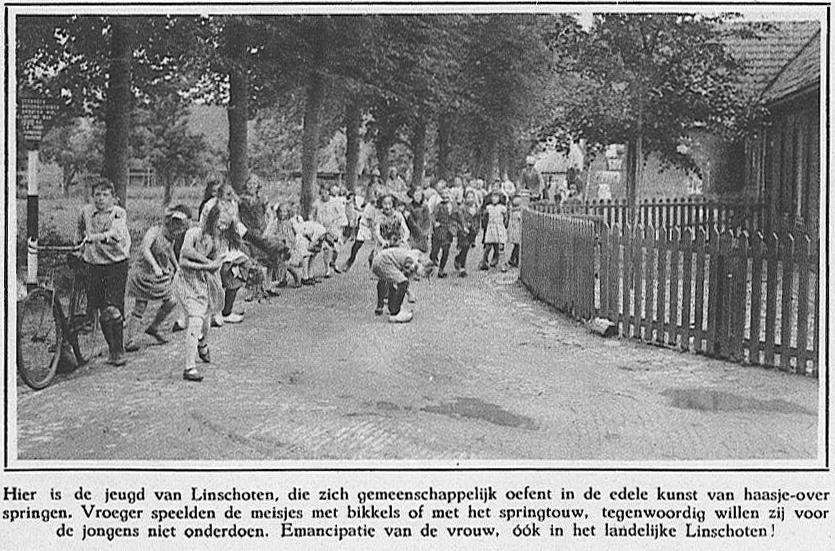 Linschotense jeugd anno 1932