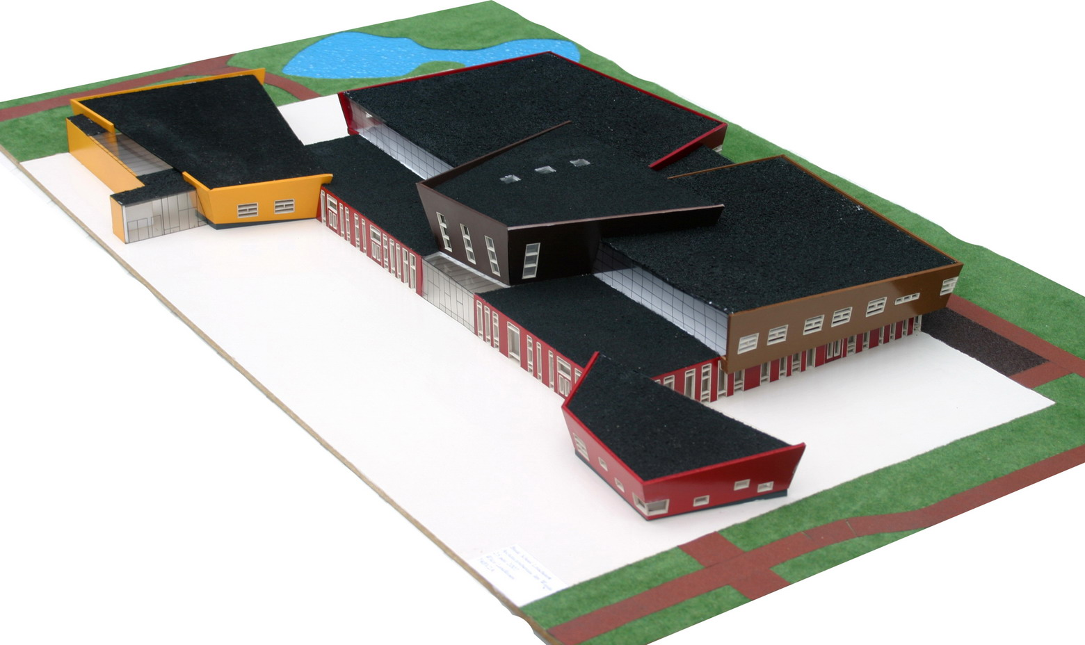 maquette brede school
