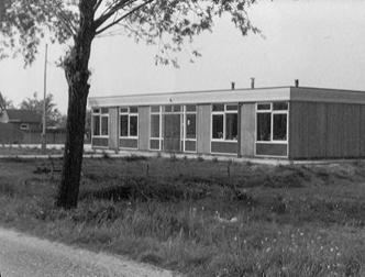 openbare Prins Clausschool aan de Nieuwe Zandweg anno 1965
